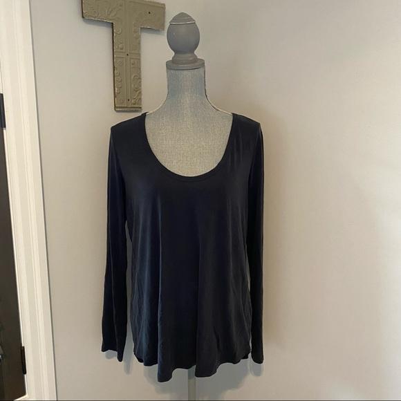 Wilfred Free by Aritzia long sleeve modal shirt